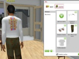 Create and change clothes in Twinity