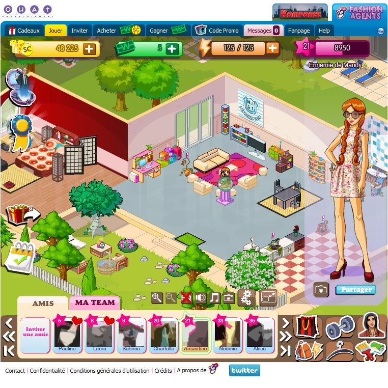 Totally spies fashion agents game