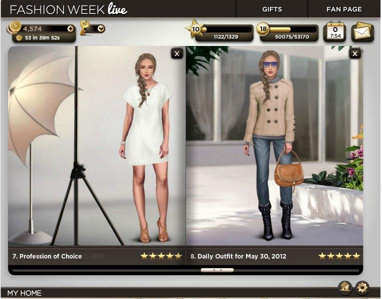 Fashion Games Design Your Own Clothes stylish clothes in Fashion